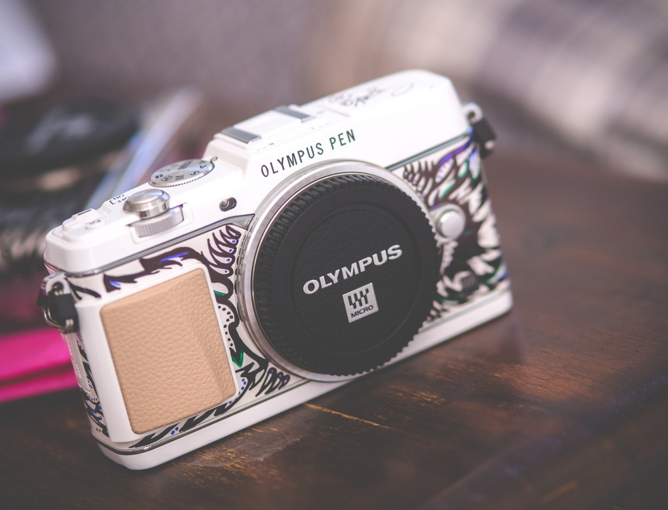 An Olympus PEN Art Edition camera by Suzko