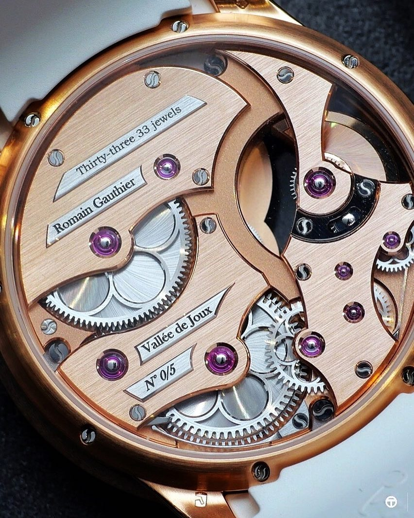 Roman Gauthier's Insight Micro-Rotor Lady watch