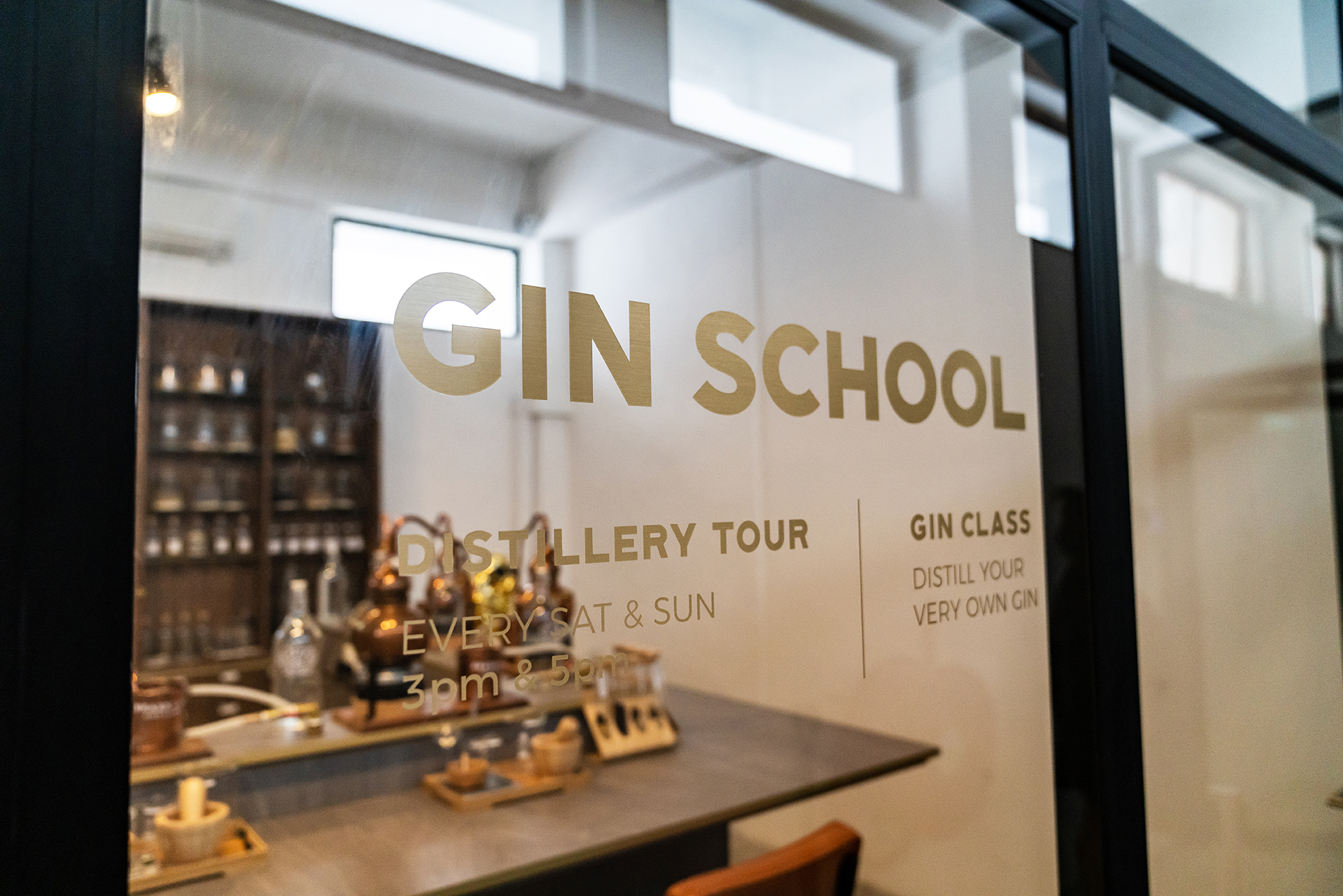 Singapore's first and only gin school