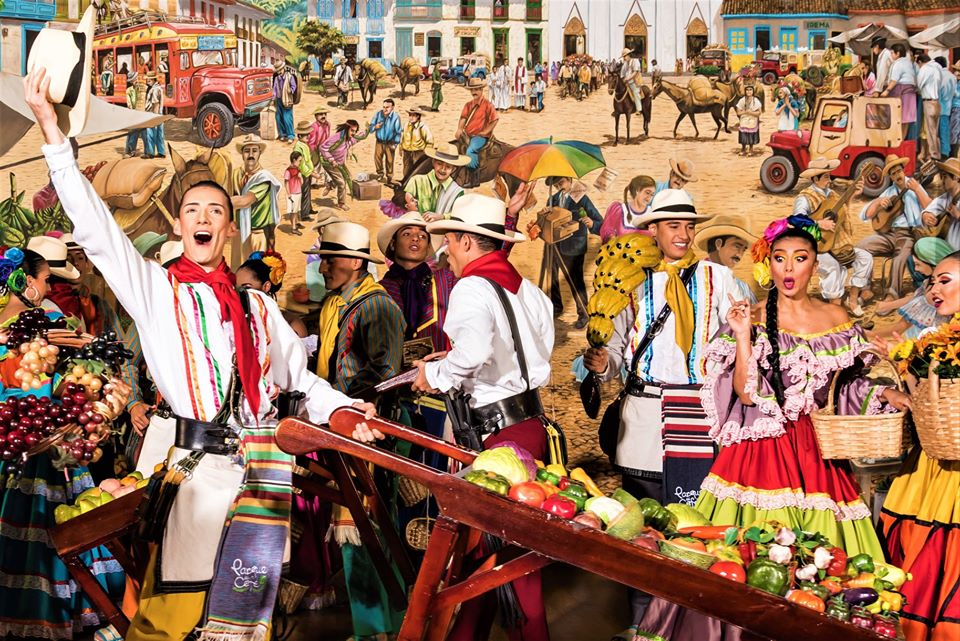 a colourful carnival in colombia