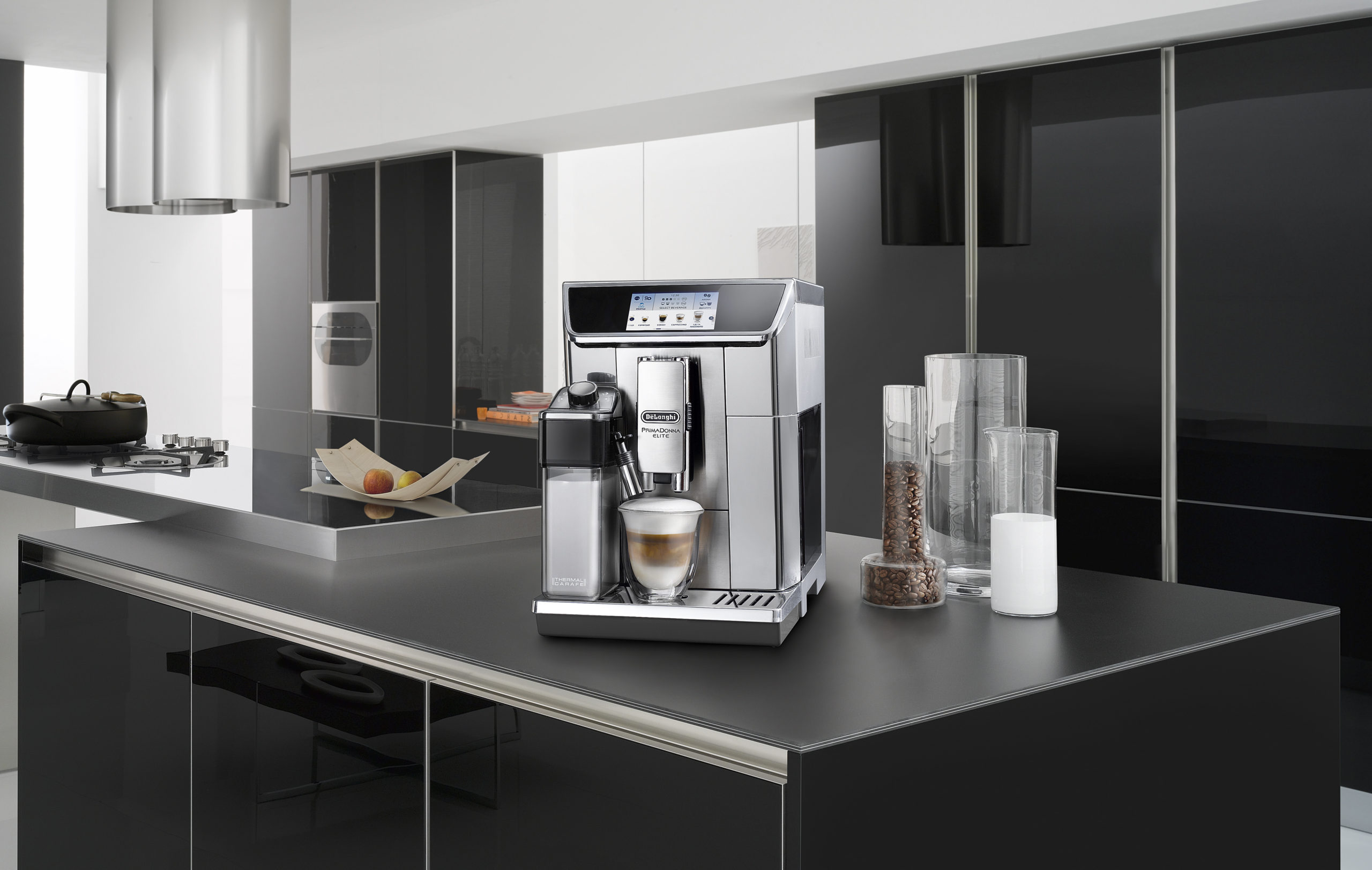 coffee machine in the kitchen