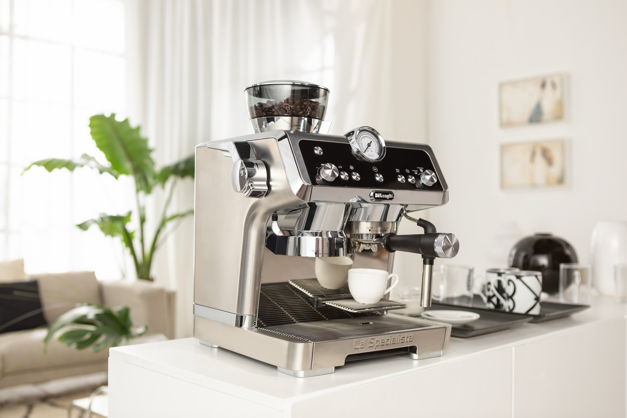 the de'longhi la specialista coffee machine