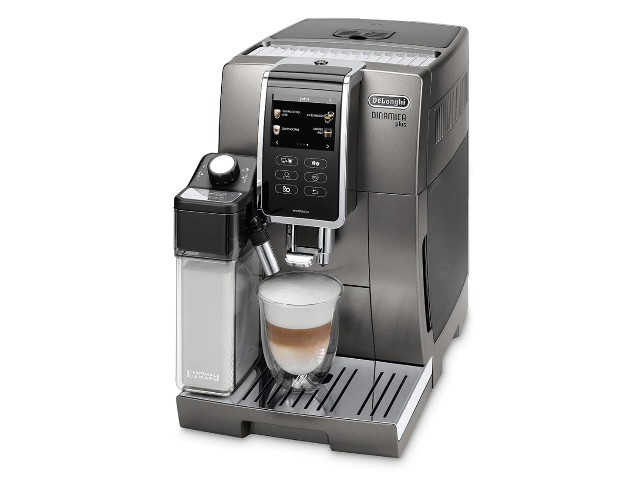 the de'longhi dinamica plus coffee machine
