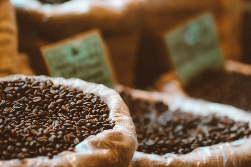 coffee beans on sale